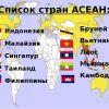 Единая Азиатская виза