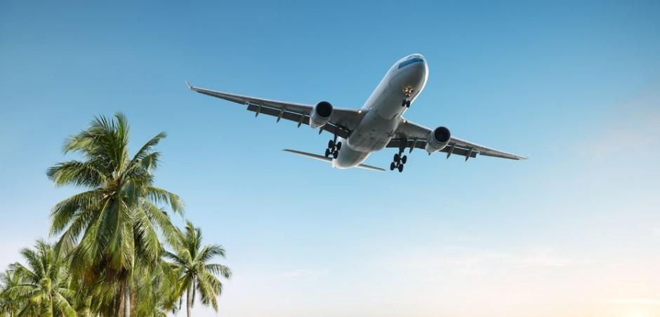 самолет лето