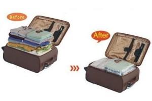 Постарайтесь упаковать все вещи в ручную кладь. Вакуумные пакеты неимоверно уменьшат объёмы вашей ручной клади. К тому же, отпадёт необходимость досмотра багажа