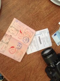 шенгенская виза без прописки